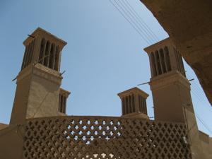 badgirs, Yazd