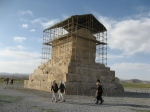 Cyrus the Great\'s tomb,Pasargadae
